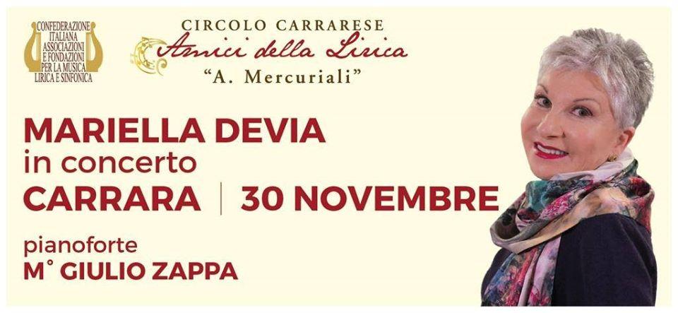 MARIELLA DEVIA in concerto, Teatro Animosi